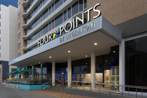 Hotel front of four points hotel Perth Australia